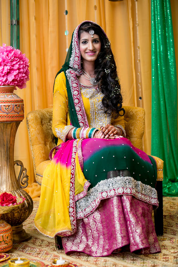 Beautiful_Pakistani_Bride_Mehndi_Ceremony