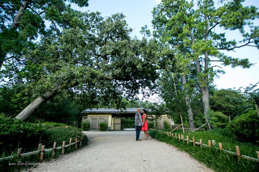 Indian Engagement photo at Japanese Garden