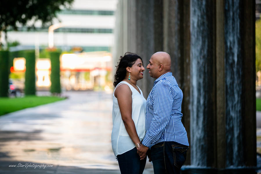 Indian Engagement photo at Texas A&M University park